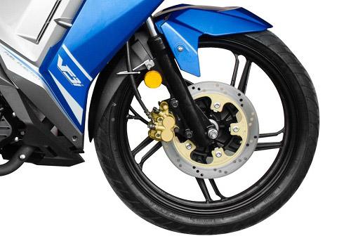 Xe côn tay mới 2020 SYM VF3i 185 trang bị tính năng phanh ABS trên cả hai bánh