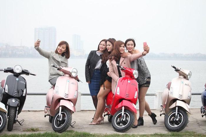 Xe máy điện Dibao được giới trẻ ưa chuộng hiện nay