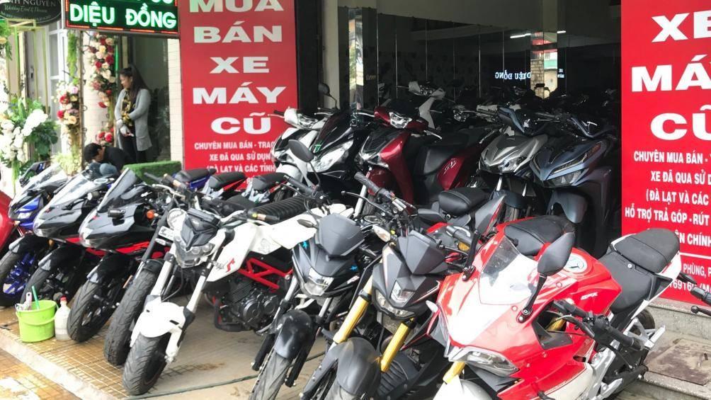 Gợi ý địa điểm mua bán xe moto cũ uy tín