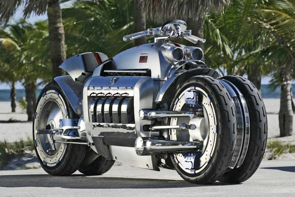 "Dòng xe ""chất lừ"" Dodge Tomahawk V10 Superbike."