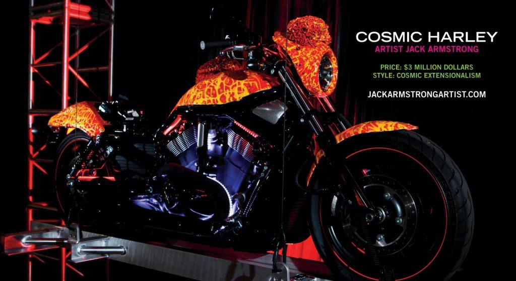 """""""Chân dung"""" ấn tượng của Harley Davidson Cosmic Starship."""